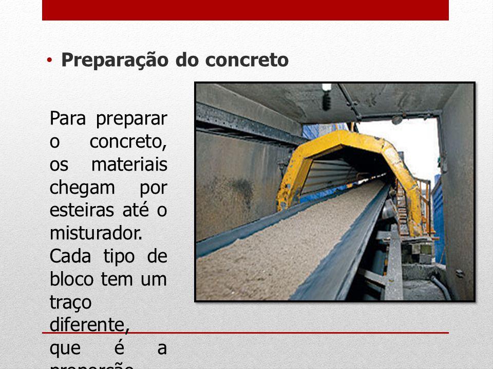Preparação do concreto