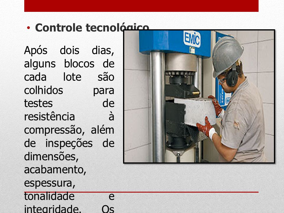 Controle tecnológico