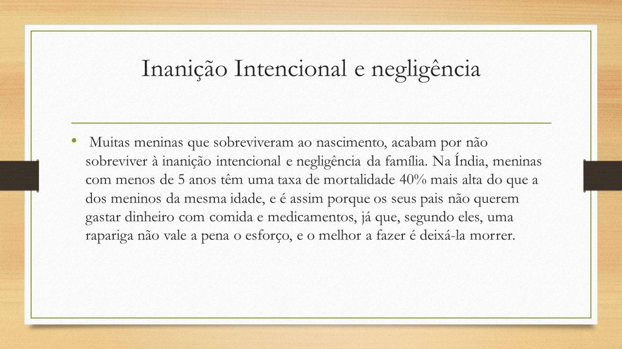 Inanição Intencional e negligência