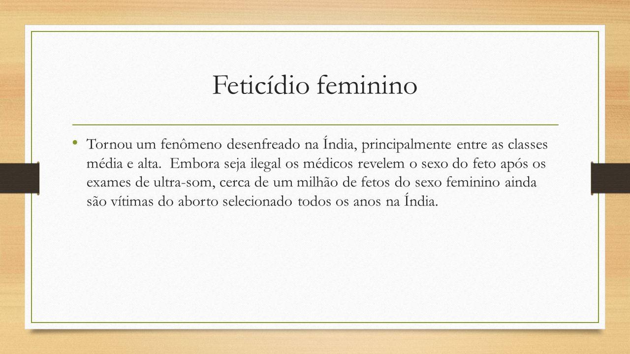 Feticídio feminino