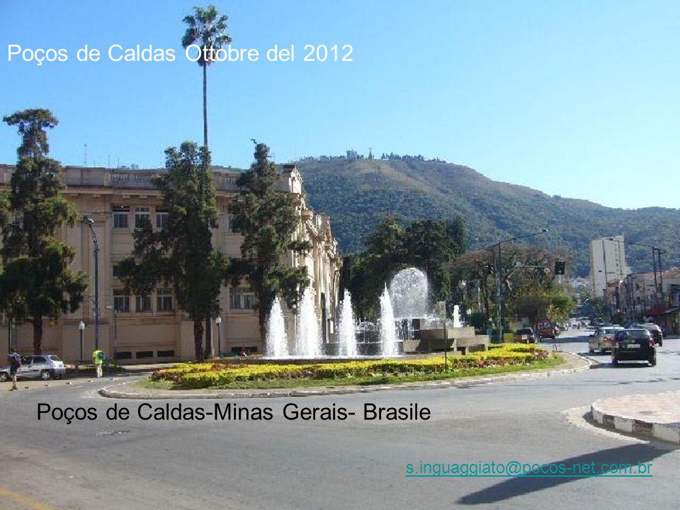 Poços de Caldas Ottobre del 2012