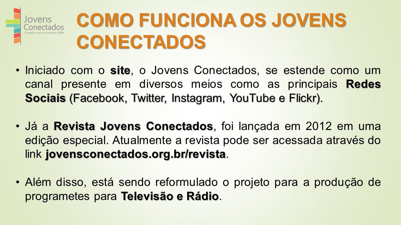 COMO FUNCIONA OS JOVENS CONECTADOS