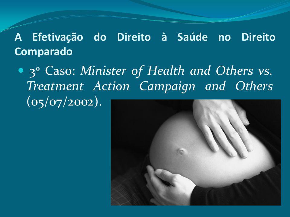 A Efetivação do Direito à Saúde no Direito Comparado