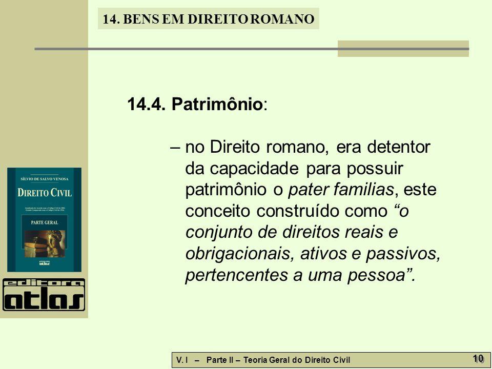 14.4. Patrimônio: