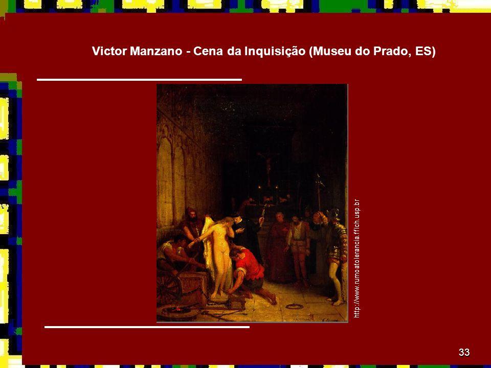 Victor Manzano - Cena da Inquisição (Museu do Prado, ES)