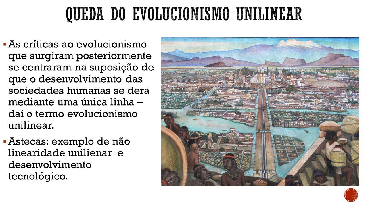 Queda do evolucionismo unilinear