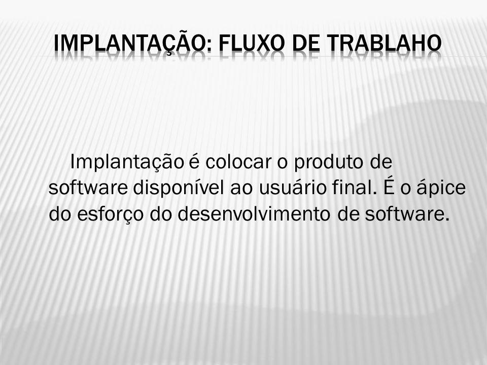 IMPLANTAÇÃO: FLUXO DE TRABLAHO