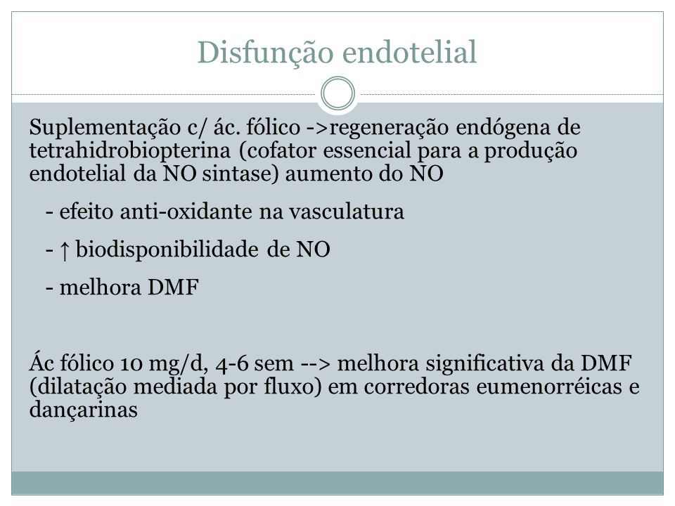Disfunção endotelial