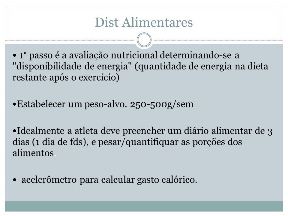 Dist Alimentares