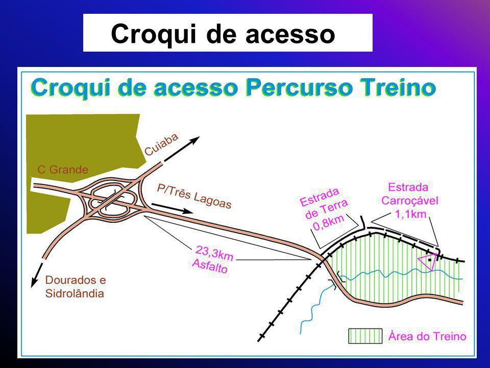Croqui de acesso