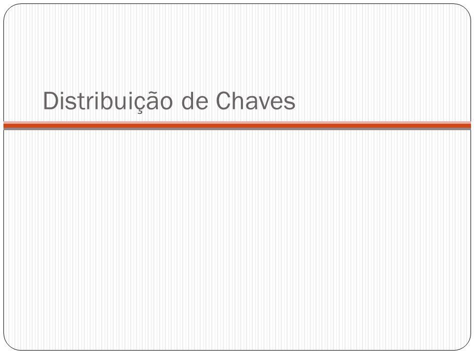 Distribuição de Chaves