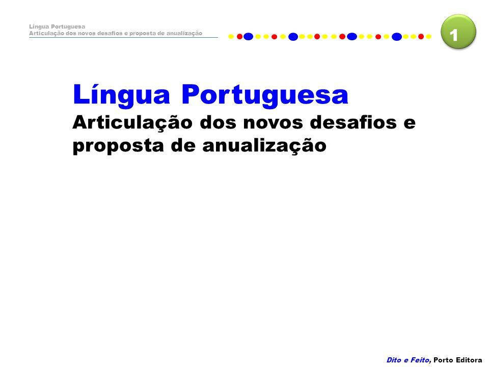 Dito e Feito, Porto Editora