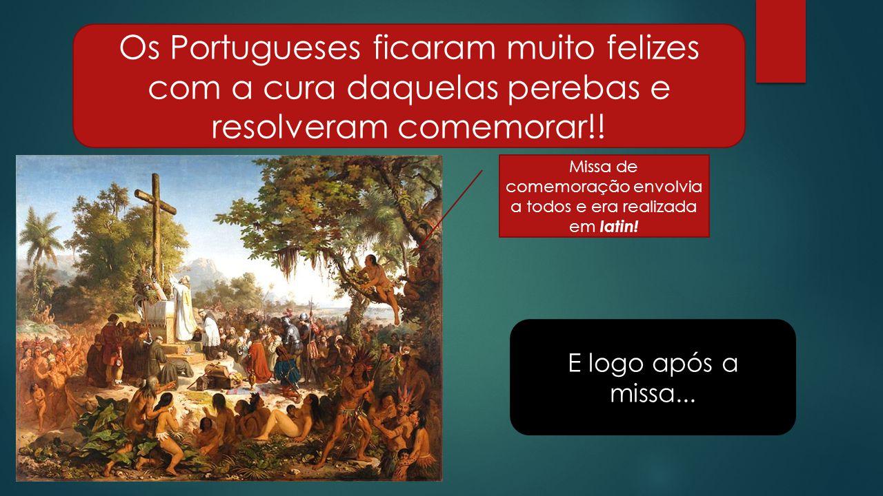 Missa de comemoração envolvia a todos e era realizada em latin!