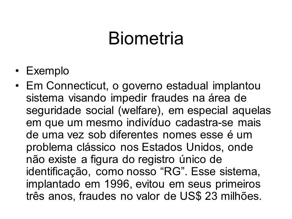 Biometria Exemplo.