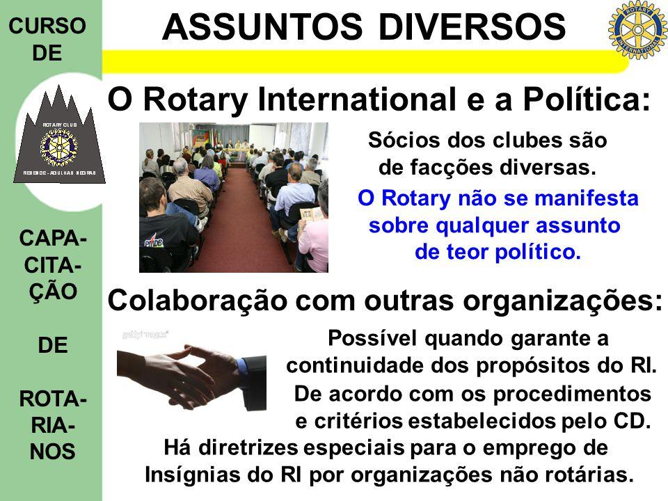 O Rotary International e a Política: