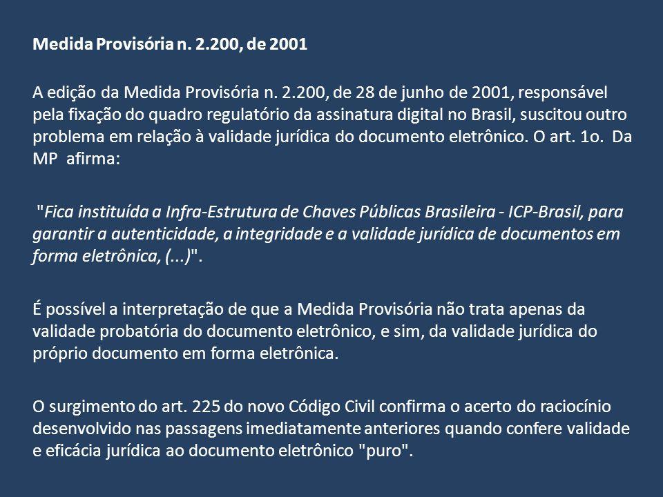 Medida Provisória n. 2.200, de 2001