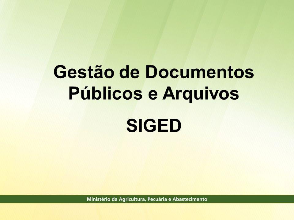 Gestão de Documentos Públicos e Arquivos