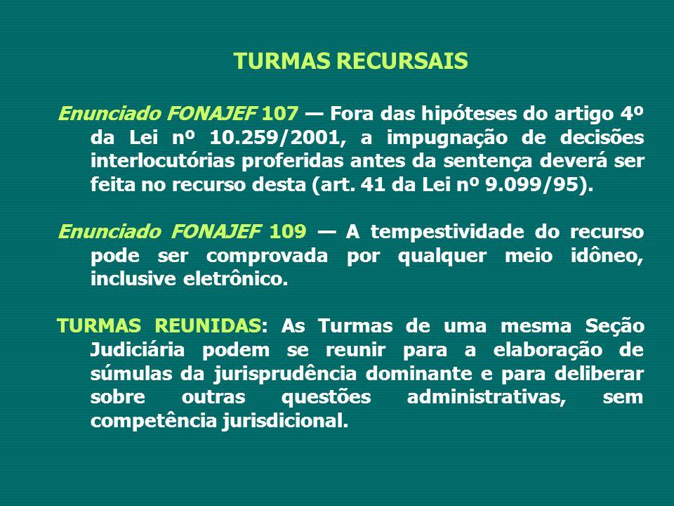 TURMAS RECURSAIS
