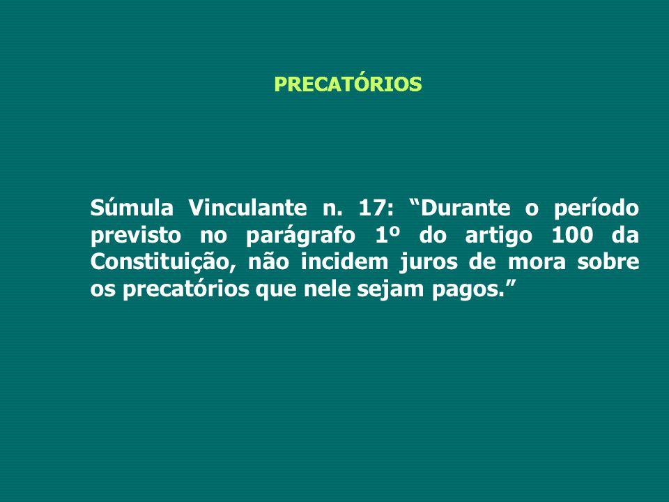 PRECATÓRIOS