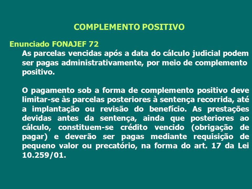 COMPLEMENTO POSITIVO Enunciado FONAJEF 72