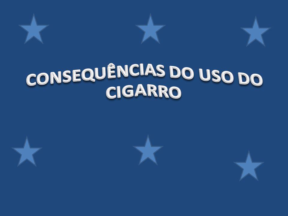 CONSEQUÊNCIAS DO USO DO CIGARRO