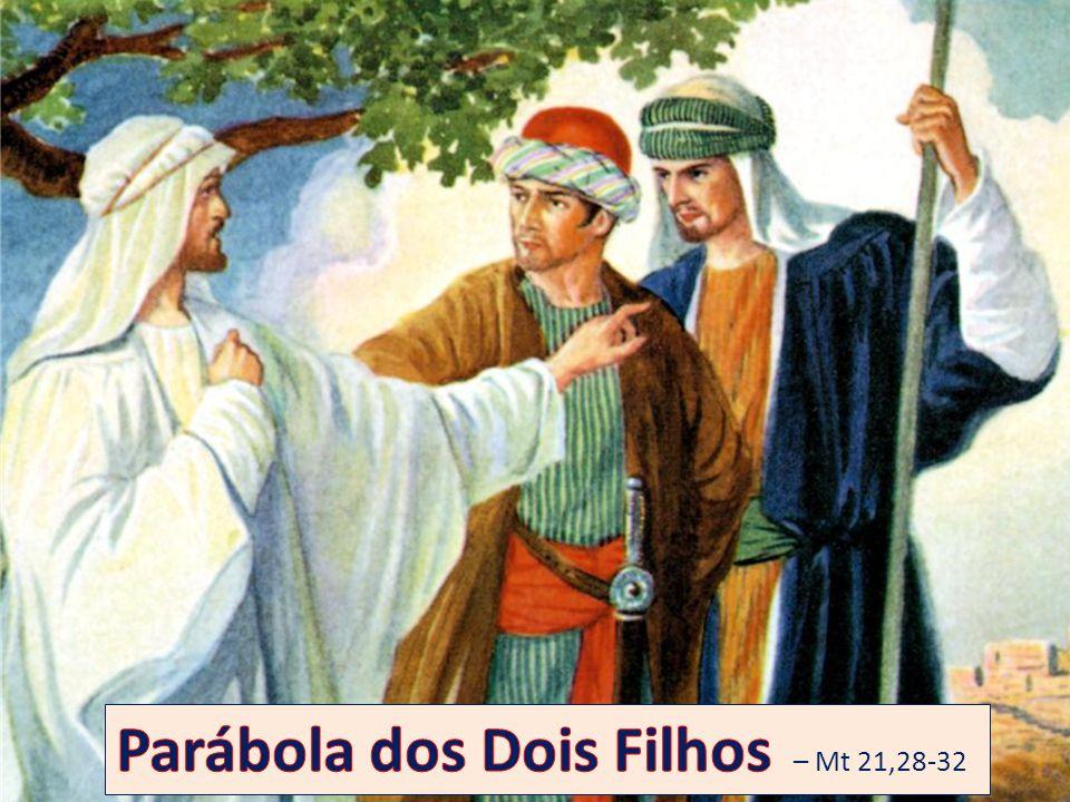 Parábola dos Dois Filhos – Mt 21,28-32