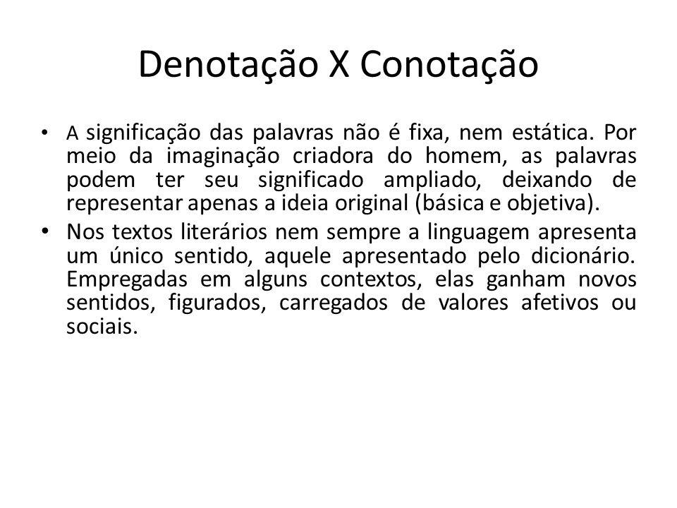 Denotação X Conotação