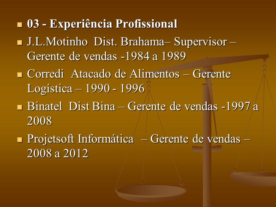 03 - Experiência Profissional