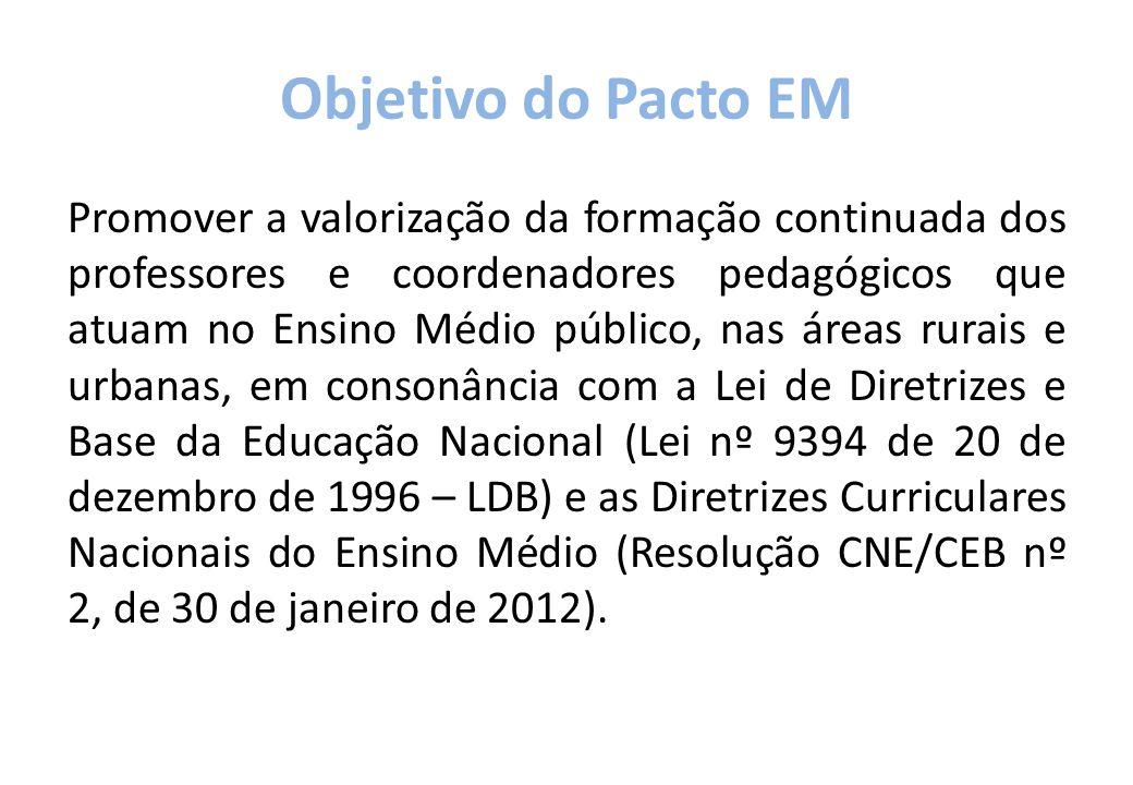 Objetivo do Pacto EM