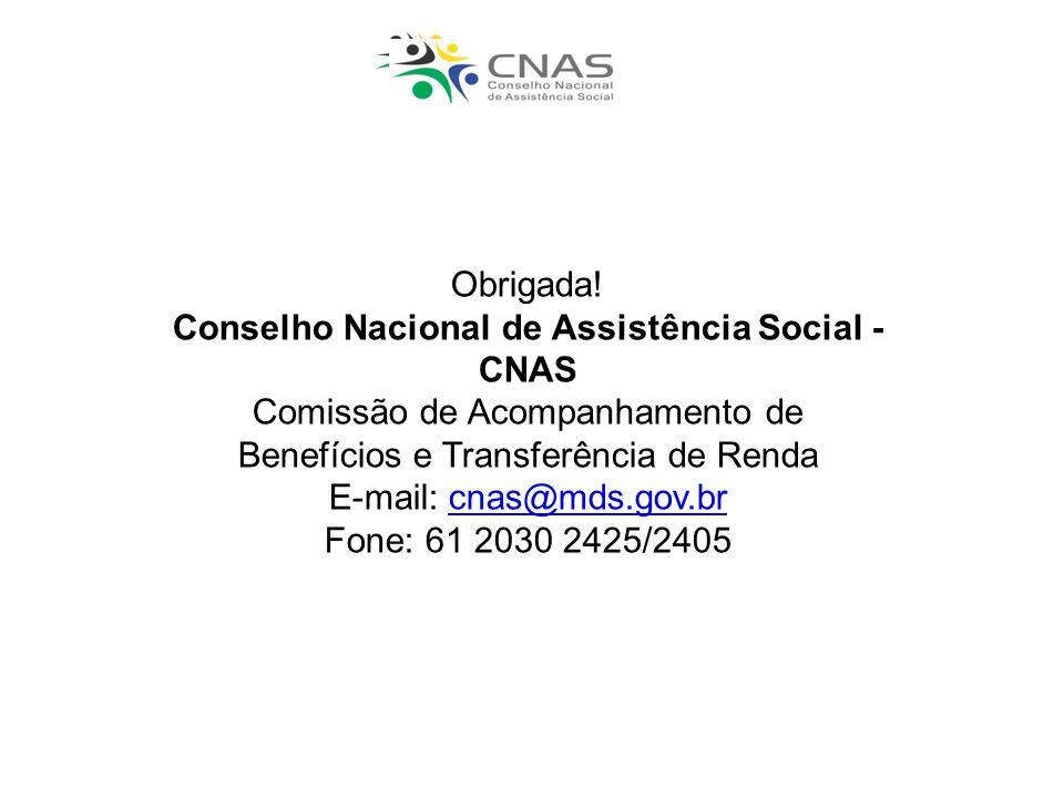 Conselho Nacional de Assistência Social - CNAS