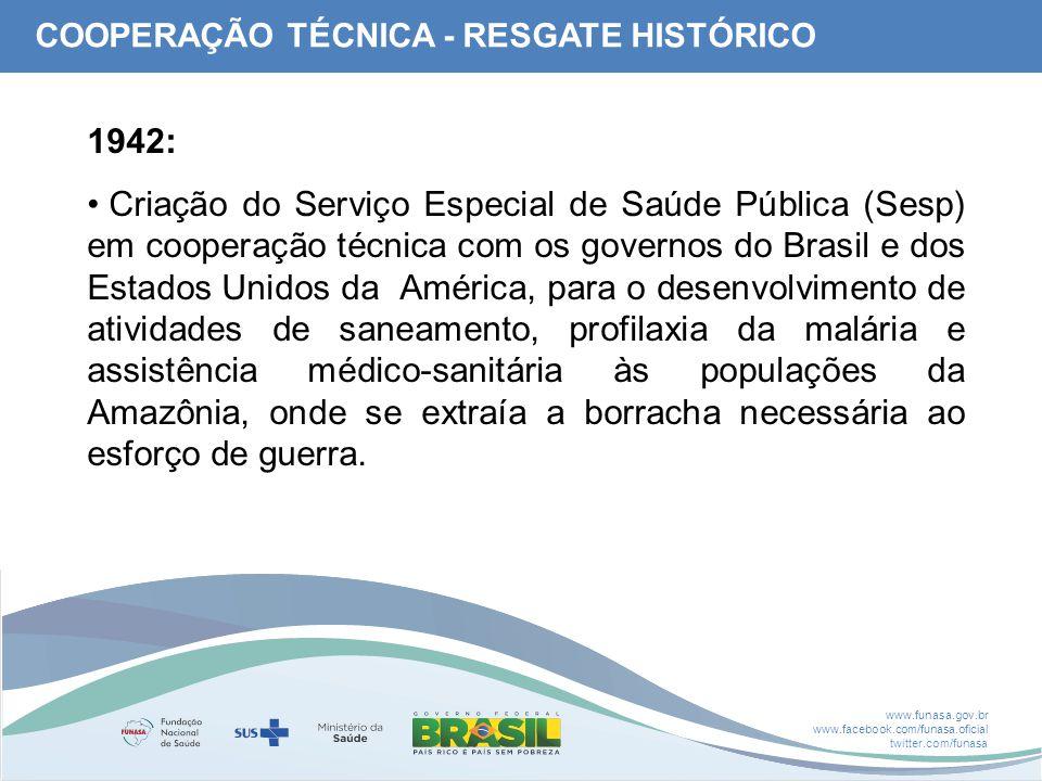 COOPERAÇÃO TÉCNICA - RESGATE HISTÓRICO