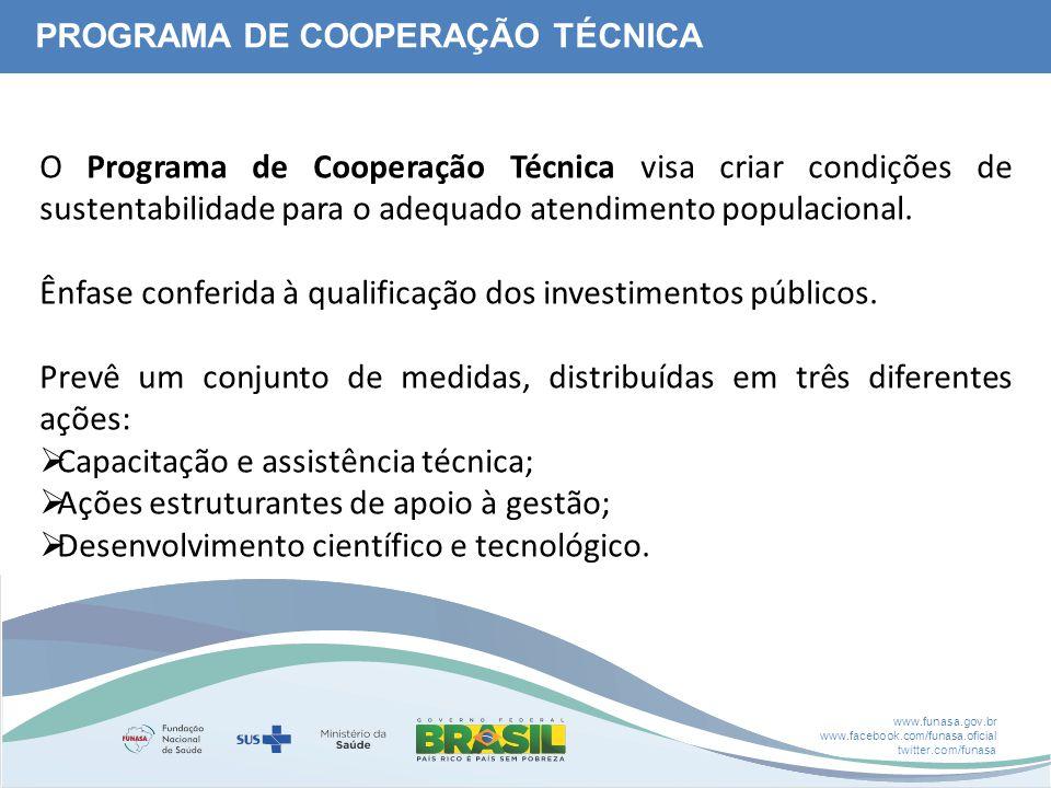 Ênfase conferida à qualificação dos investimentos públicos.