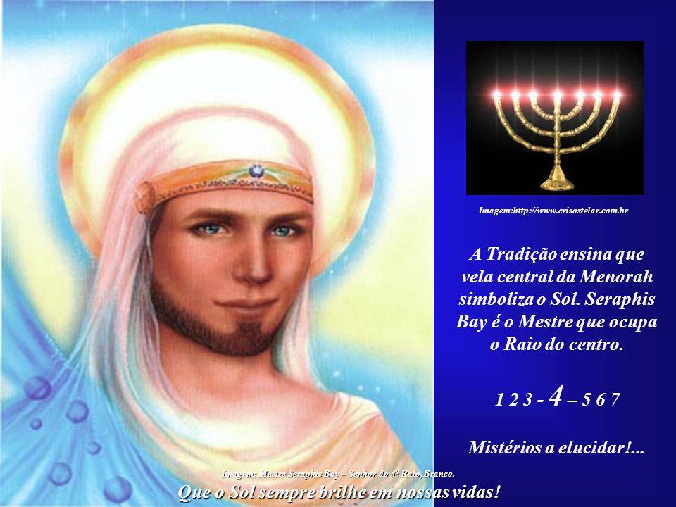 vela central da Menorah simboliza o Sol. Seraphis
