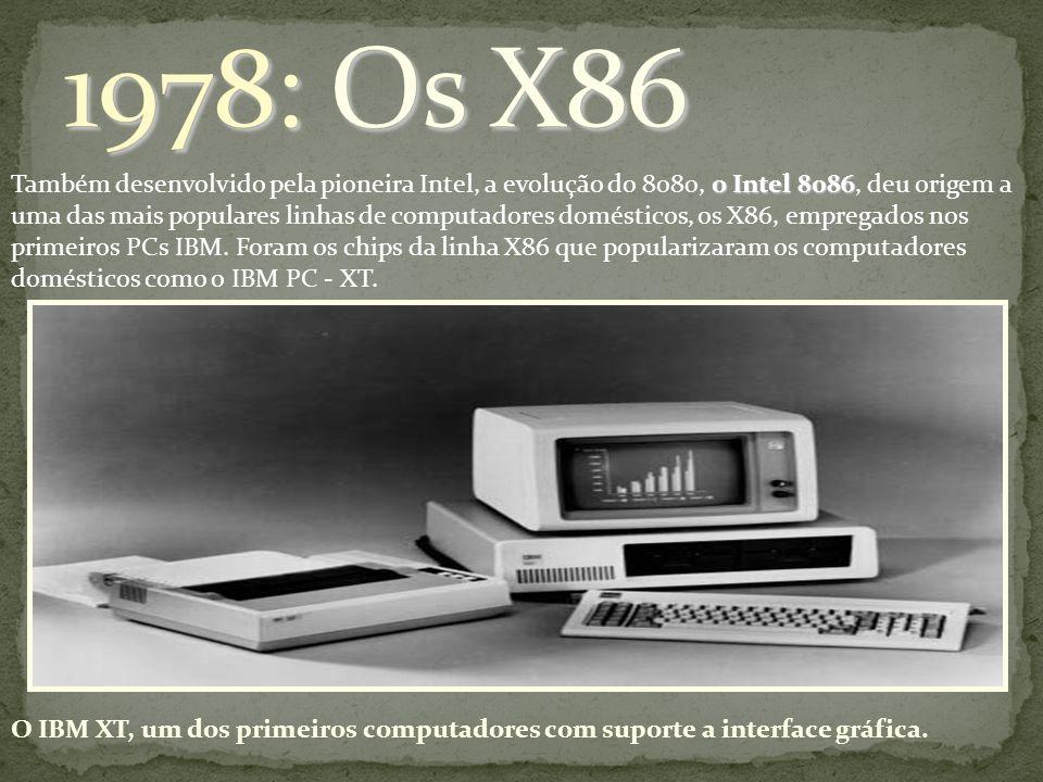 1978: Os X86