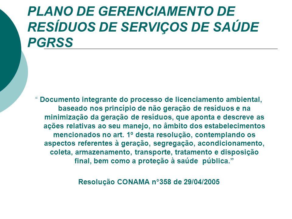 Resolução CONAMA n°358 de 29/04/2005