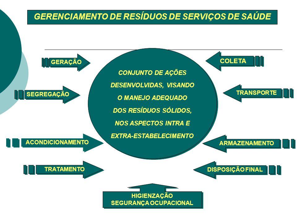 GERENCIAMENTO DE RESÍDUOS DE SERVIÇOS DE SAÚDE SEGURANÇA OCUPACIONAL