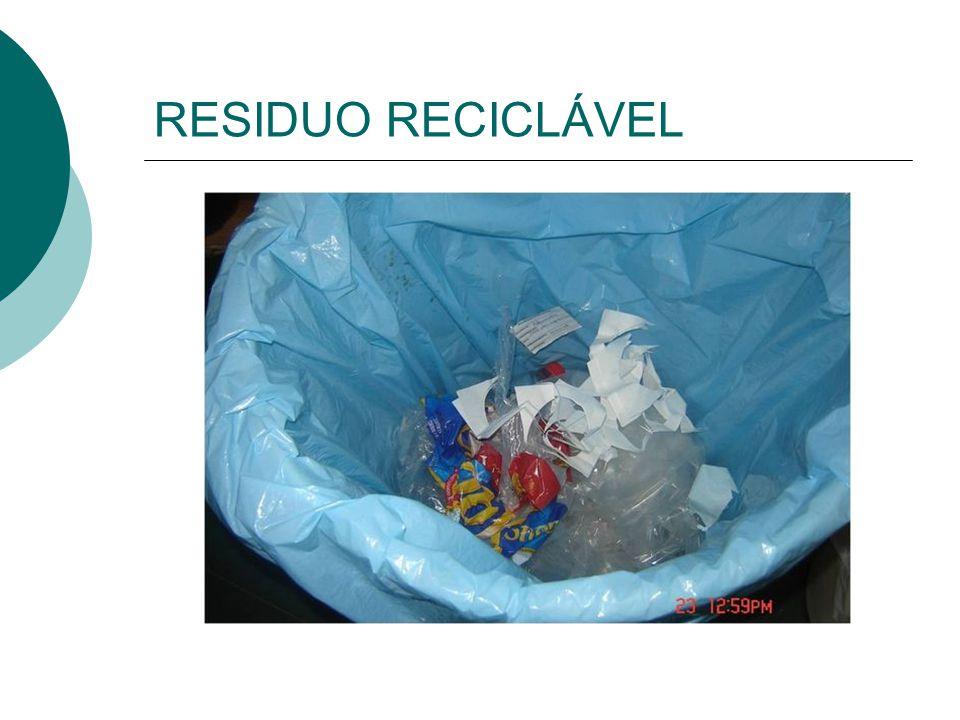 RESIDUO RECICLÁVEL