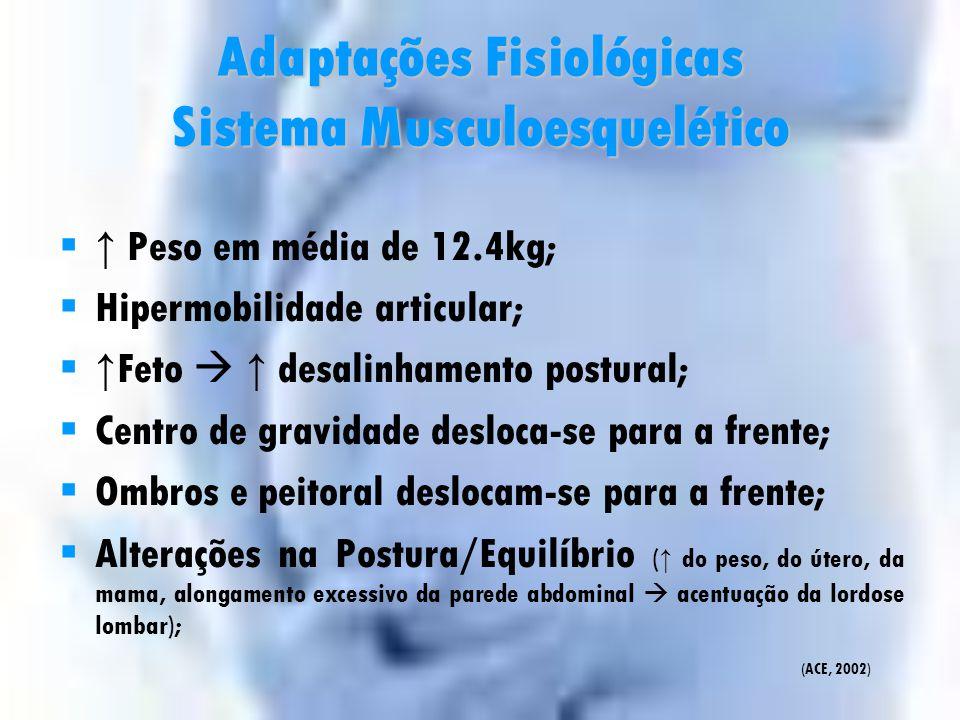 Adaptações Fisiológicas Sistema Musculoesquelético