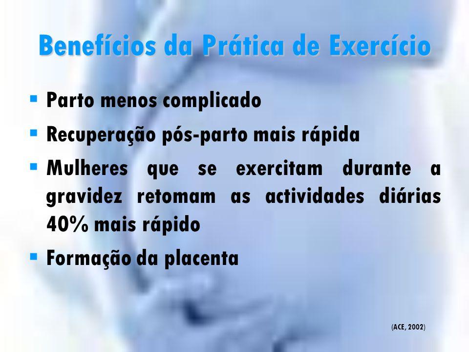 Benefícios da Prática de Exercício