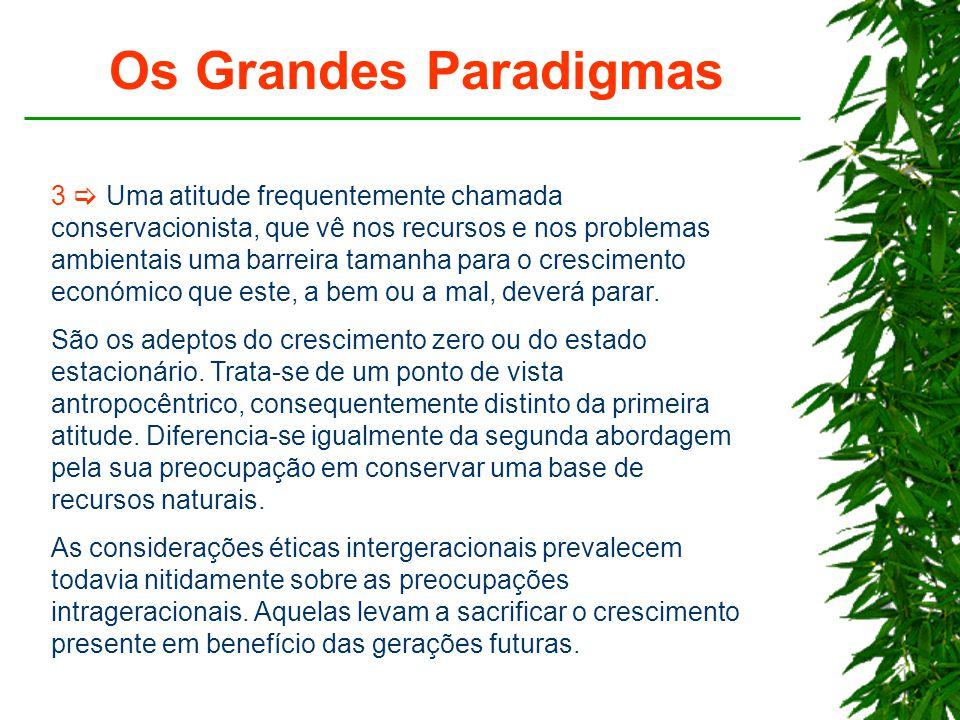 Os Grandes Paradigmas