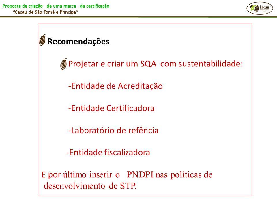 Projetar e criar um SQA com sustentabilidade: -Entidade de Acreditação