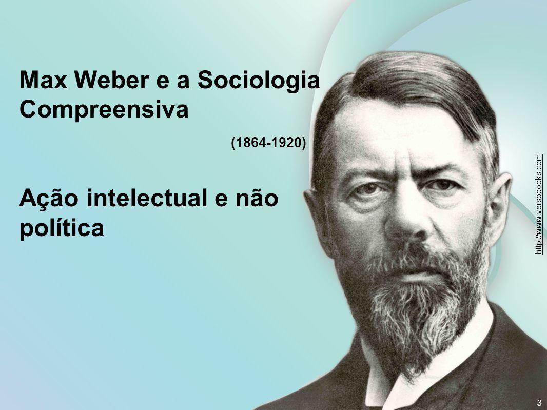 Max Weber e a Sociologia Compreensiva (1864-1920)