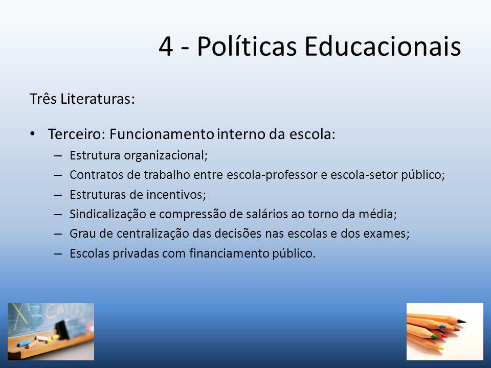 4 - Políticas Educacionais