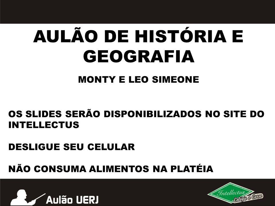 AULÃO DE HISTÓRIA E GEOGRAFIA