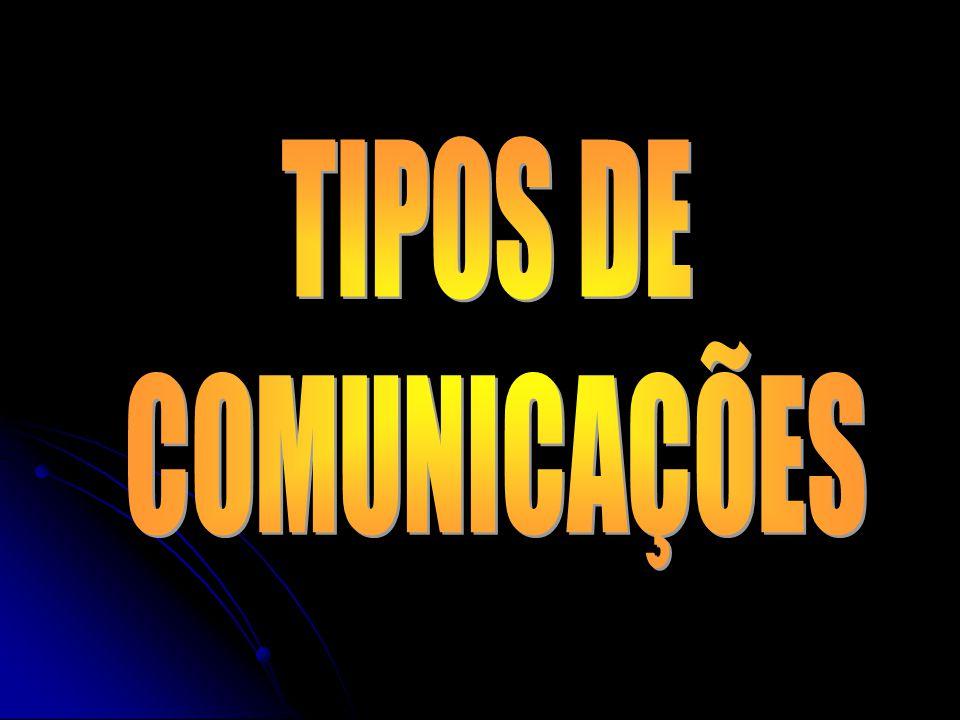 TIPOS DE COMUNICAÇÕES