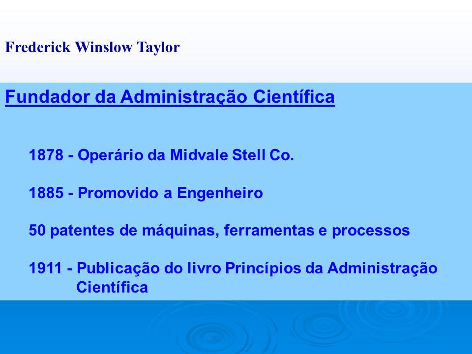 Fundador da Administração Científica