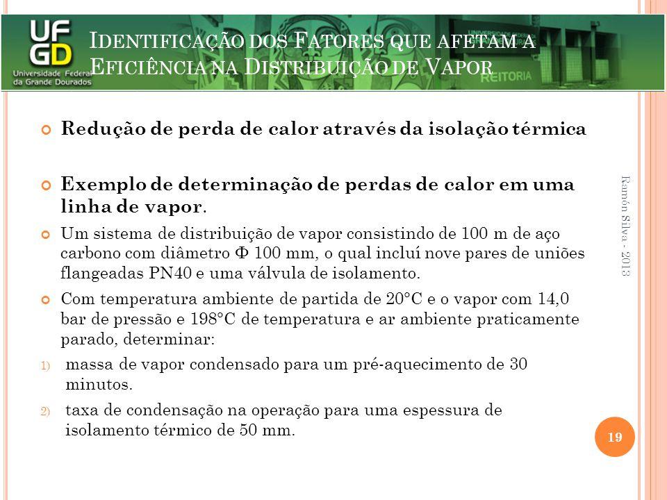 Redução de perda de calor através da isolação térmica