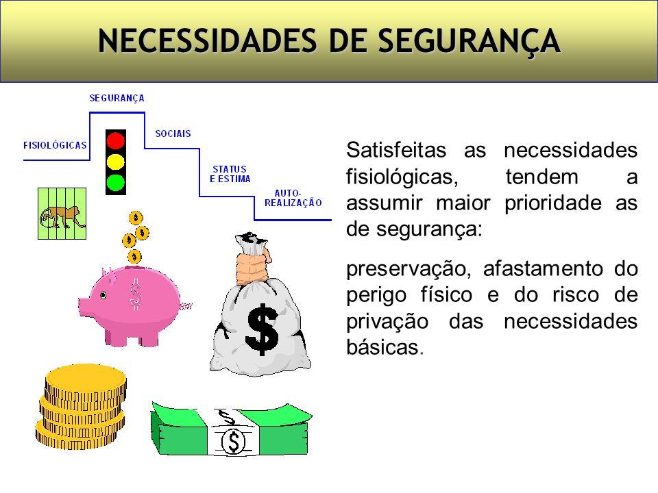 NECESSIDADES DE SEGURANÇA