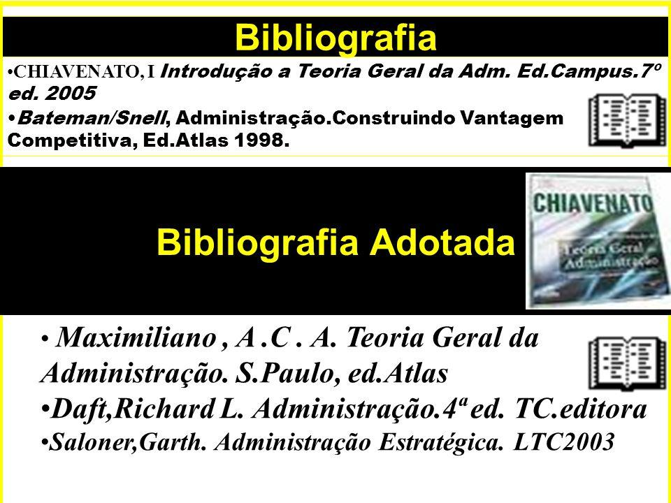 Bibliografia Bibliografia Adotada Bibliografia Adotada