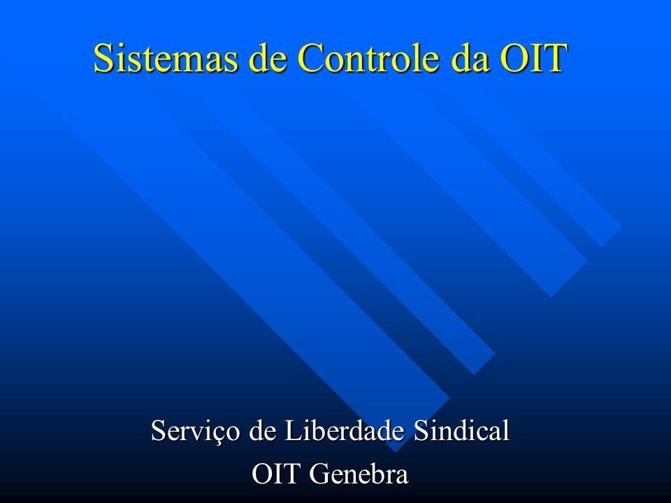 Sistemas de Controle da OIT